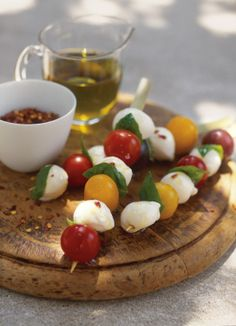 Bocconcini and Tomato Skewers | Williams-Sonoma Taste