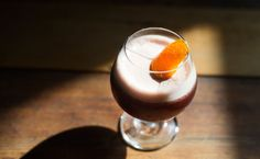 The Suppressor #246 is a riff on mulled wine and sounds like the perfect drink for a fall drink.