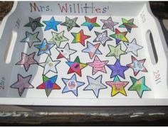 Willittes Classroom Art Project - Serving Tray