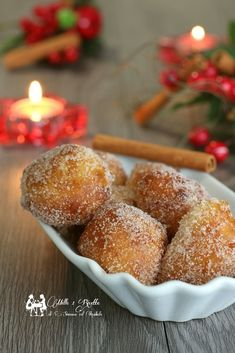 Beignets, Croissant Recipe, Friend Recipe, Arancini, Sicilian Recipes, Angel Food Cake, Finger Foods, Food And Drink, Cooking