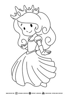 Looking for a Imprimer Dessin Princesse A Colorier. We have Imprimer Dessin Princesse A Colorier and the other about Coloriage Imprimer it free. Cow Coloring Pages, Mario Coloring Pages, Princess Coloring Pages, Printable Coloring Pages, Coloring Pages For Kids, Coloring Sheets, Coloring Books, Kids Colouring, Princess Pictures