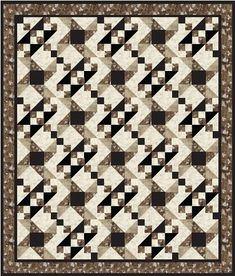"""FREE quilt pattern: """"Two Block Quilt"""" (from Pellon) by Melissa A Malzahn"""