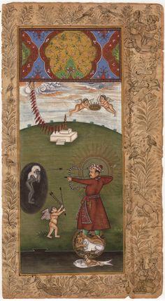 Imperial Mughal Painting Handpainted Jahangir Indian Moghul Empire Miniature Art - See more at: http://www.artnindia.com/shop/imperial-mughal-painting-handpainted-jahangir-indian-moghul-empire-miniature-art/#sthash.H49yogLQ.dpuf