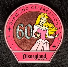View Pin: DLR 60th Diamond Celebration Collection - Aurora ONLY