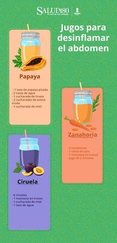 5 juices to deflate the abdomen Healthy Juices, Healthy Drinks, Healthy Tips, Healthy Recipes, Nutrition Tips, Smoothie Recipes, Detox, Instagram, Dieta Paleo