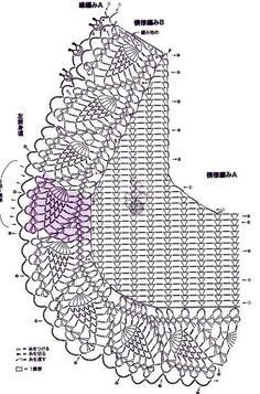 Discover thousands of images about Best 12 Crochet bolero, free pattern – SkillOfKing. Crochet Bolero Pattern, Crochet Jacket, Crochet Diagram, Filet Crochet, Crochet Patterns, Crochet Vintage, Crochet Art, Crochet Motif, Easy Crochet
