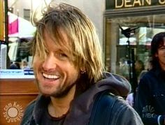 hehe, he is so cute with his hair outta place and that smile *faints*