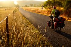 Bicycle Touring in the Hunter Valley, NSW, Australia by worldbiking.info, via Flickr