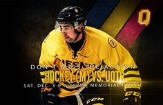 Don't miss men's hockey this Weekend Game of the Week!  Basketball takes on Algoma at the ARC Saturday too #GoGaelsGo