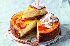 Cheesecake di cavolfiore con colatura di alici