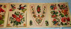 (2) German Berlin WoolWork Pattern Book/Leporello Detail eBay.de