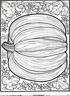 Remember these? More Let's Doodle holiday pages can be seen here! #pumpkin