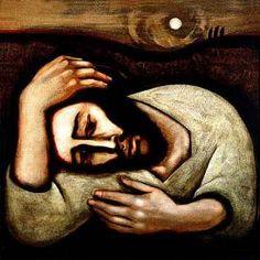 """Christ in Gethsemane"", Michael O'Brien"
