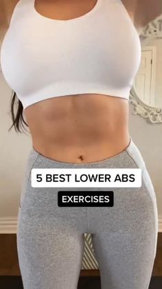 Gym Workout Videos, Gym Workout For Beginners, Fitness Workout For Women, Summer Body Workouts, Butt Workout, Easy Workouts, Mini Workouts, Best Lower Ab Exercises, Slim Waist Workout