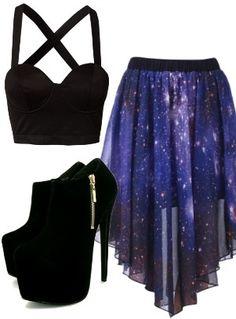 #Farbbberatung #Stilberatung #Farbenreich mit www.farben-reich.com I found 'Galaxy Outfit' on Wish, check it out!