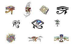 Eye of Horus tattoo designs from Tattoo-Art.com