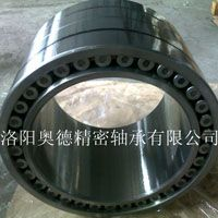 Multi-row cylindrical roller bearings are only able to accommodate radial loads