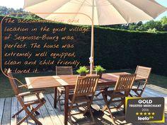 Maison Liposse, Hossegor, Aquitaine, France. A simple winning formula: modern & comfortable accommodation + great outdoor space + near beach + good price.