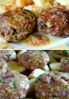 Cookbook Recipes, Meat Recipes, Cooking Recipes, Minced Meat Recipe, Greek Cooking, Greek Dishes, Mince Meat, Eat The Rainbow, Greek Recipes