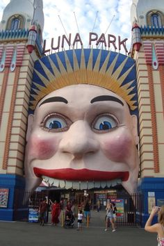 Luna Park, Sydney.  I used to get off the ferry here every morning on my way to work.