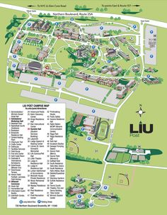 liu post campus map