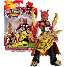 "Bandai Saban's Power Rangers Dino Charge Series 5"" Tall Figure - Villain FURY with Sword"