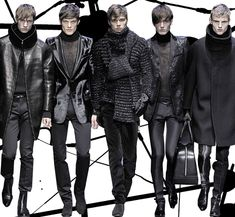 Futuristic Clothing For Men | IN/VIEW - Profiles in Fashion • Gianfranco Ferré Men F/W 2009