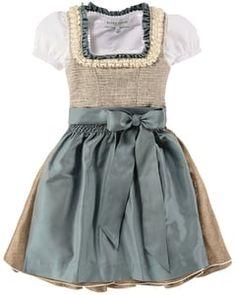 Krüger Mädchen-Dirndl mit Bluse und Schürze   LODENFREY Rock, Cheryl, Skater Skirt, Skirts, Fashion, Little Dresses, Silk, Moda, Skirt