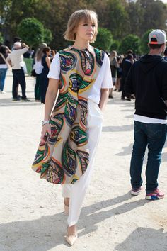 Street style fashion dress up