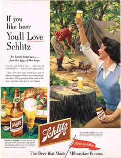 Schlitz #beer, 1953
