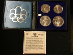 1976 Montreal Olympic .925 Silver coin set $10 and $5 - http://coins.goshoppins.com/candaian-coins/1976-montreal-olympic-925-silver-coin-set-10-and-5/
