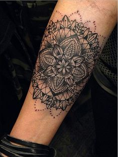 See more of Cally-Jo's work and read our interview with her here. #InkedMagazine #mandala #tattoo #tattoos #art #inked