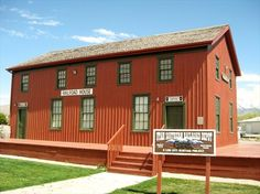 Oldest remaining train station in Utah. Built in 1973. This used to be an eye sore in Lehi, but is now an interesting train museum. Utah Southern Railroad Depot - Lehi, Utah - Train Stations/Depots