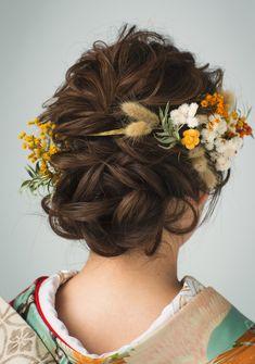 Graduation Hairstyles, Wedding Hairstyles, Coming Of Age Day, Up Styles, Hair Styles, Hair Arrange, Japanese Hairstyle, Kimono Fashion, Headdress
