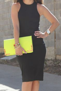 looks are everything - Sense & Sequins: Black & Neon