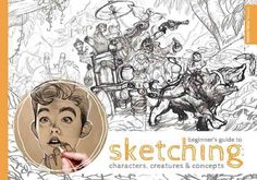 The ability to sketch confidently is an integral part to the beginning of any concept artists workflow! The Beginners Guide to Sketching: Characters, Creatures and Concepts teaches the fundamentals of