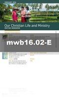 Cahier pour la r 233 union janvier 2016 mwb jw org april ausby jw finds