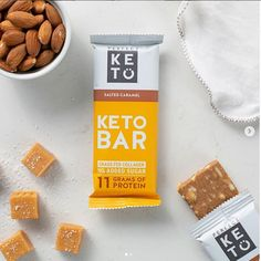 The 4 best protein bars for you low carbs gluten free with BCAA no add sugar healthy and to testy help in muscle gain and best food for after a workout. Low Carb Bars, Keto Bars, Almond Brittle, Best Protein Bars, Pure Coconut Oil, Energy Snacks, Keto Cookies, Keto Diet For Beginners, Good Fats