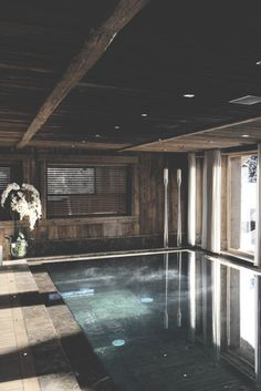 That's so cool, just going through my Pinterest and I find this! This is the pool room in one of the chalets in megeve we were in, I think it's sun arbois