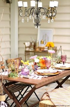Fall Tabletop Design - Celebrations at Home