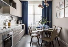 Modernism, Interior Design, Kitchen, Table, Furniture, Home Decor, Nest Design, Modern Architecture, Cooking
