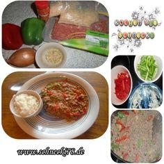 #rezept #kochen #Küche Neue Rezept auf meinen Blog :) Schönes Wochenende euch! ♥ http://schnecki78.de/2014/06/rezept-hackfleisch-paprika-reiseintopf/#more-2813