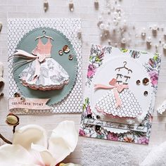 Night Out - Card Kit of the Month Club Spellbinders Paper Arts - Innovative solutions for today's DIY crafter. Card Kit, I Card, Paper Art, Paper Crafts, Card Crafts, Craft Cards, Dress Card, Spellbinders Cards, Whimsy Stamps