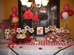 Ladybug Birthday Party Idea 2