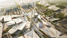 Astana World Expo 2017 Entry | Zaha Hadid Architects | Bustler