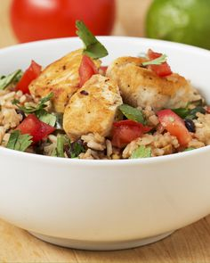 One-Pot Cilantro Lime Chicken And Rice