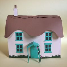 Paper cottage house