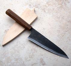 Kasumi San Mai Gyuto 200mm chef knife handmade by Bryan Raquin.