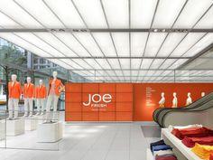 Joe Fresh New York flagship / Burdifilek