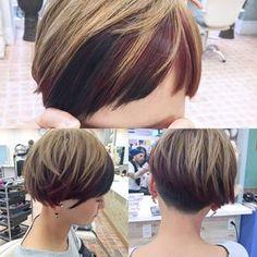 Very Short Hair, Short Hair With Bangs, Short Hair Cuts, Short Hair Styles, Hair Arrange, Grunge Hair, Short Bob Hairstyles, Hair Photo, Hair Designs